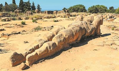 Ο Ατλαντας θα στηθεί ξανά στον ναό του Δία στον Ακράγαντα της Σικελίας | tanea.gr