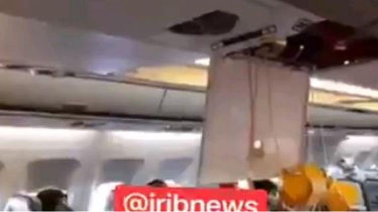 Πτήση τρόμου: Τραυματίες επιβάτες σε ιρανικό αεροπλάνο εξαιτίας αμερικανικών μαχητικών   tanea.gr