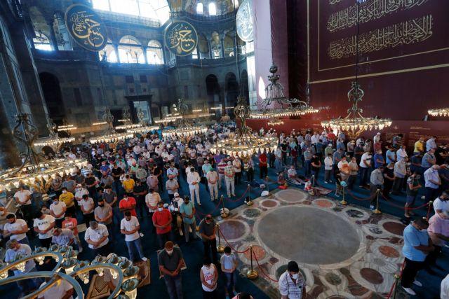 Αγία Σοφία: Γιατί ο Ερντογάν δεν κάλυψε με χαλί το «ομφάλιο» | tanea.gr