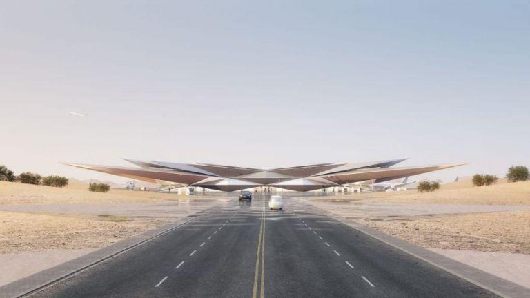 Το αεροδρόμιο στη Σαουδική Αραβία με την εντυπωσιακή ψευδαίσθηση | tanea.gr