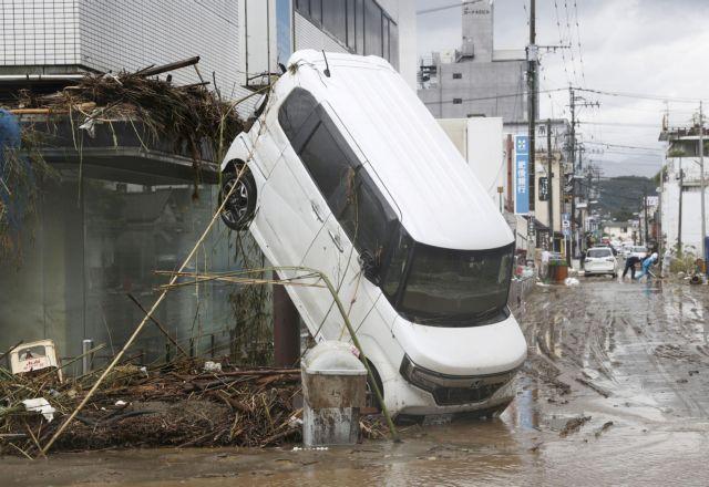 Τραγωδία στην Ιαπωνία: Τουλάχιστον 36 νεκροί από τις πλημμύρες - Οι μισοί σε οίκο ευγηρίας | tanea.gr