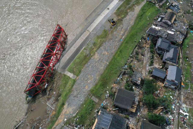Ιαπωνία: Τουλάχιστον 58 οι νεκροί από τις πλημμύρες και τις κατολισθήσεις | tanea.gr
