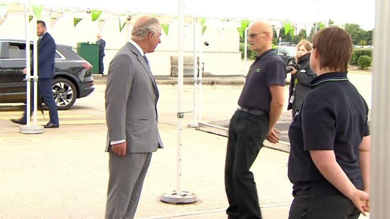 Ενα απρόοπτο περίμενε τον πρίγκιπα Κάρολο στο Μπρίστολ | tanea.gr