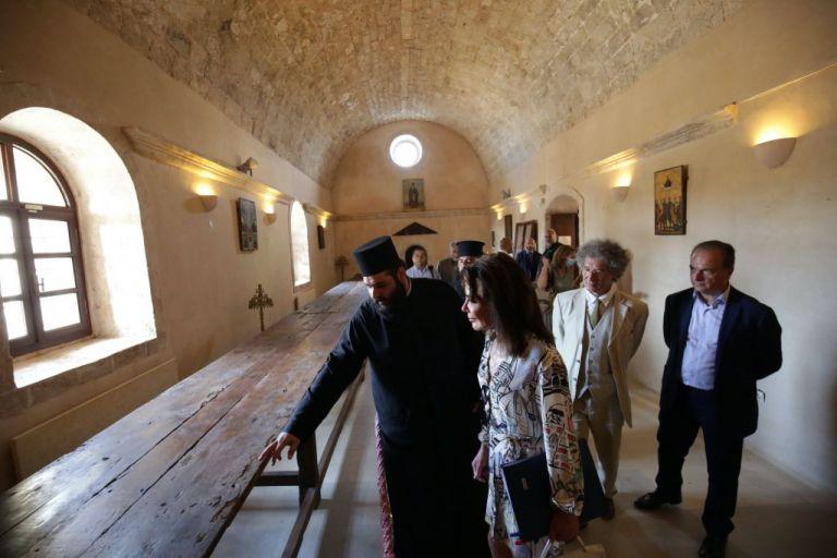 Στην Σπιναλόγκα η πρόεδρος της Επιτροπής «Ελλάδα 2021» Γ. Αγγελοπούλου – Δασκαλάκη | tanea.gr