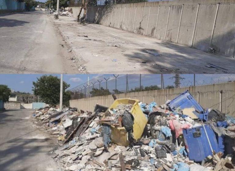Εικόνες ντροπής εξαιτίας των σκουπιδιών στον Ελαιώνα - Πριν την επέμβαση των υπηρεσιών του δήμου Αιγάλεω | tanea.gr