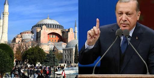 «Βολές» Ερντογάν προς όλους για Αγια-Σοφιά: Κανείς δεν μπορεί να παρεμβαίνει   tanea.gr