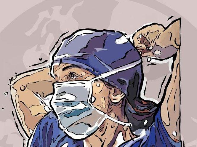 Μία τοιχογραφία για τους γιατρούς και τους νοσηλευτές στο ΑΧΕΠΑ | tanea.gr
