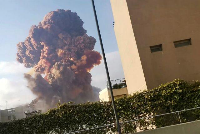 Βηρυτός: Συγκλονιστικό βίντεο καταγράφει σε αργή κίνηση τις φονικές εκρήξεις | tanea.gr