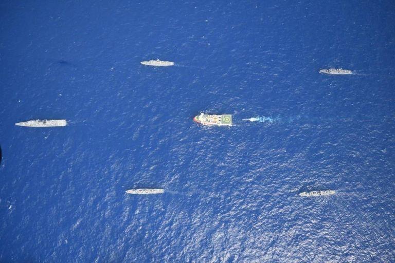 Τουρκική προπαγάνδα: Βίντεο με τα πολεμικά πλοία που συνοδεύουν το Oruc Reis | tanea.gr