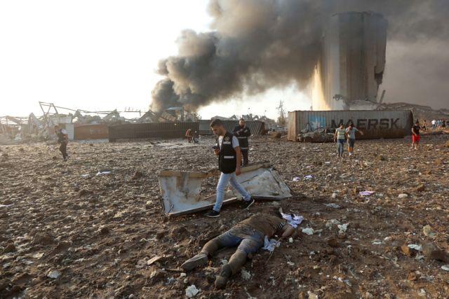Βάφτηκε με αίμα η Βηρυτός: Εικόνες αποκάλυψης – Δεκάδες οι νεκροί, χιλιάδες οι τραυματίες | tanea.gr