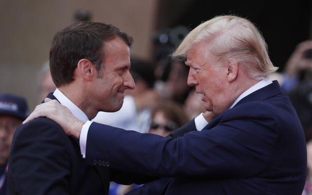 Επικοινωνία Μακρόν – Τραμπ: Θα «επιβάλουμε» την ειρήνη στην Ανατολική Μεσόγειο | tanea.gr