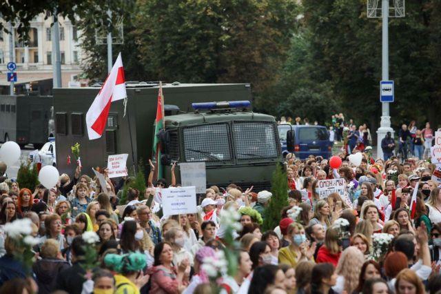 Λευκορωσία: 125 συλλήψεις σήμερα στο Μινσκ - O Πούτιν κάλεσε στην Μόσχα τον Λουκασένκο | tanea.gr