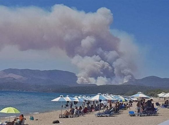 Μάνη : Ενεργοποιήθηκε το σύστημα Copernicus για την δασική πυρκαγιά | tanea.gr