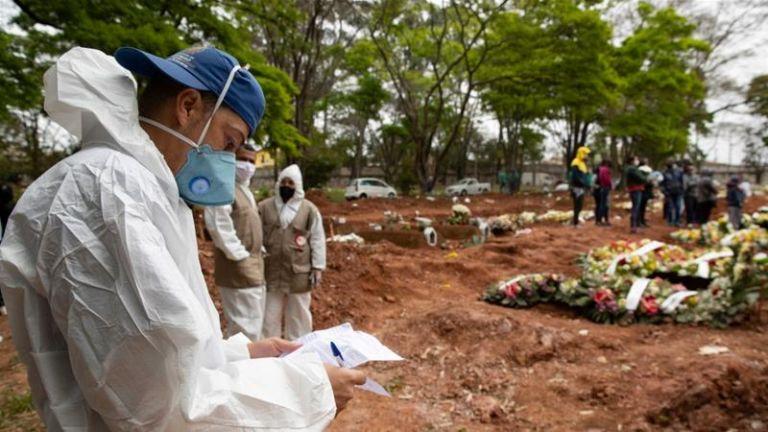 Βραζιλία : 1.437 νεκροί και 57.152 κρούσματα σε 24 ώρες | tanea.gr