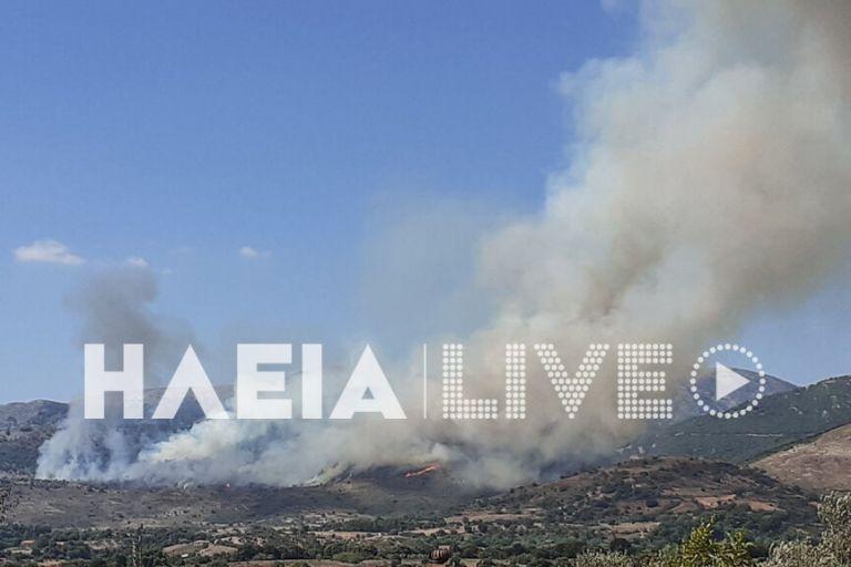 Φωτιά στην Αρχαία Ολυμπία : Ενισχύθηκαν οι δυνάμεις της Πυροσβεστικής | tanea.gr