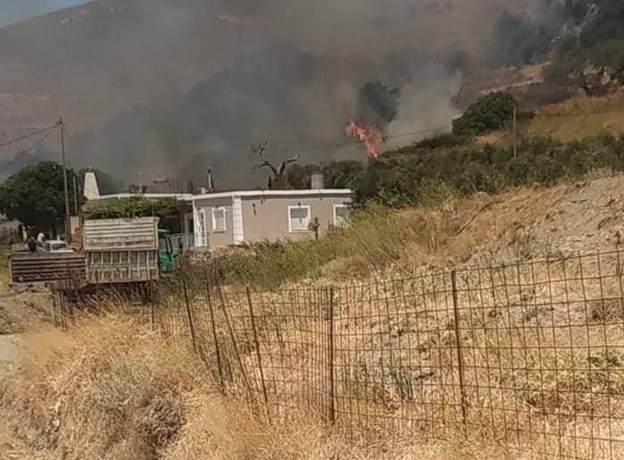 Αναζωπυρώθηκε η φωτιά στα Χανιά – Εκκενώθηκε προληπτικά οικισμός | tanea.gr