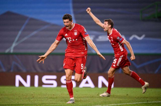 Εύκολη πρόκριση της Μπάγερν Μονάχου στον τελικό του Champions League | tanea.gr