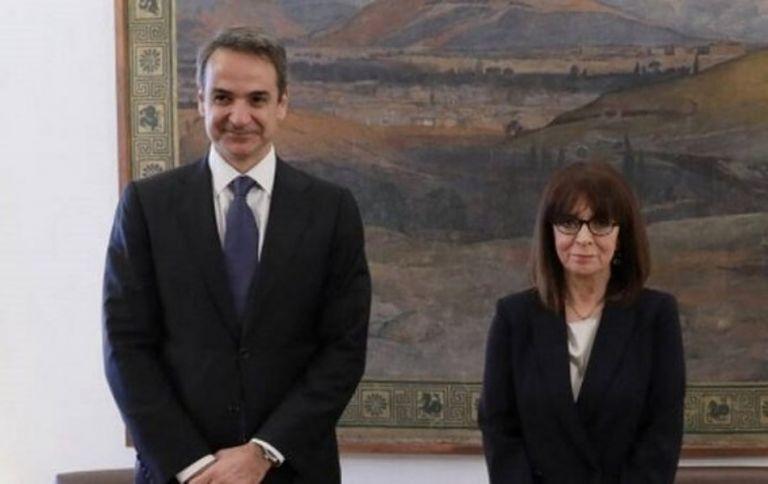 Μητσοτάκης : Ενημέρωσε την Πρόεδρο της Δημοκρατίας για τις εξελίξεις στα ελληνοτουρκικά | tanea.gr