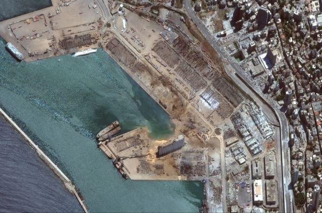 Βηρυτός: Το πριν και το μετά – Η θάλασσα «κατάπιε» ολόκληρο κομμάτι στεριάς | tanea.gr