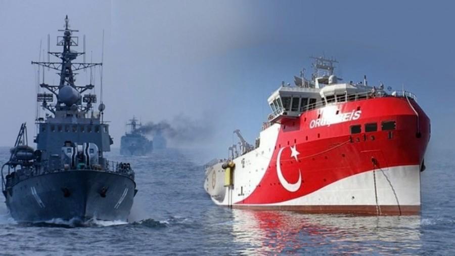 Σκηνικό έντασης στήνει η Τουρκία: Εκλεισαν τους πομπούς του Oruc Reis για  να μην ανιχνεύεται - ΤΑ ΝΕΑ