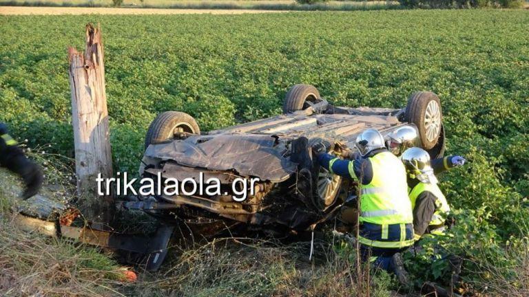 Τρίκαλα: Νεκρός 50χρονος σε σοκαριστικό τροχαίο – Στα δύο στύλος της ΔΕΗ | tanea.gr