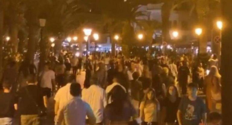 Απίστευτος συνωστισμός σε Ρέθυμνο και Χανιά μετά τα μεσάνυχτα | tanea.gr
