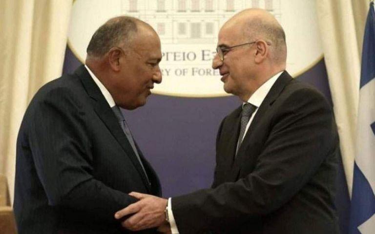 Δένδιας : Με τη συμφωνία Ελλάδας – Αιγύπτου επεκτείνεται και η δικαιοδοσία της ΕΕ στη θαλάσσια περιοχή   tanea.gr