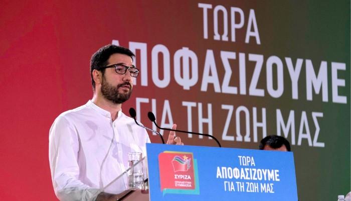 Ηλιόπουλος: Το επιτελικό κράτος του Μητσοτάκη απειλεί να τινάξει τη χώρα στον αέρα | tanea.gr