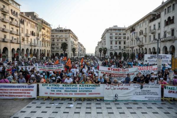 ΔΕΘ: Συγκεντρώσεις διαμαρτυρίας προετοιμάζουν συνδικάτα και κοινωνικοί φορείς   tanea.gr