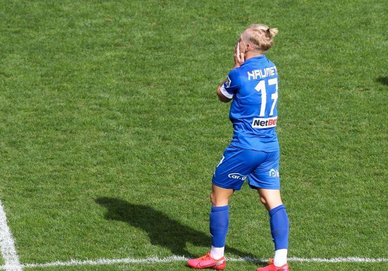Το εντυπωσιακό γκολ του Νάουμετς στο «Κλεάνθης Βικελίδης» | tanea.gr