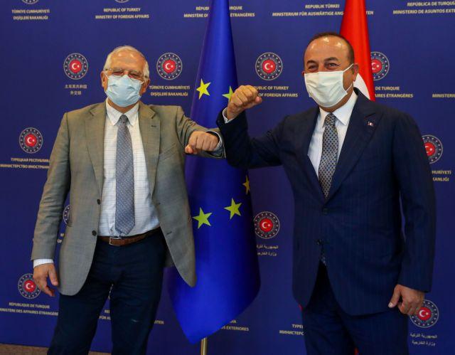 Συνομιλία Μπορέλ – Τσαβούσογλου λίγο πριν τη Σύνοδο Κορυφής της ΕΕ | tanea.gr