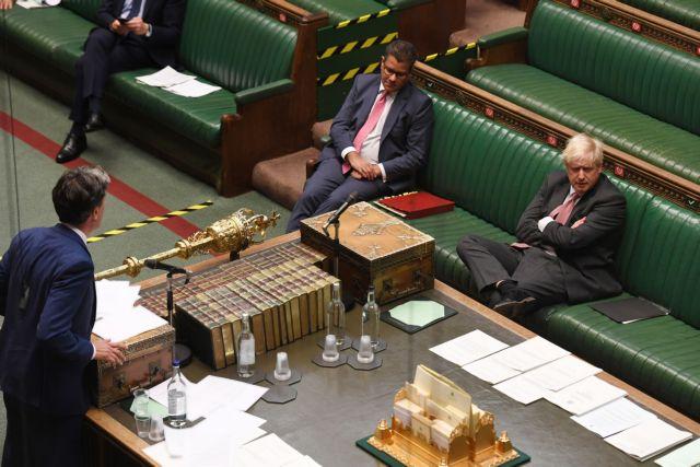 Βρετανία: Στη Βουλή το νομοσχέδιο Τζόνσον για άτακτο Brexit | tanea.gr
