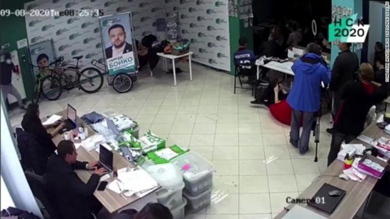 Ρωσία: Επίθεση με χημική ουσία σε γραφείο συνεργατών του Ναβάλνι | tanea.gr