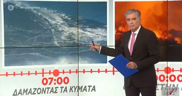 Mega: Πρωτιά στην τηλεθέαση για το Live News με τον Νίκο Ευαγγελάτο [πίνακες] | tanea.gr