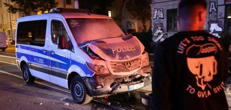 Τρίτη νύχτα επεισοδίων στη Λειψία για την εκκένωση καταλήψεων και την ακρίβεια στα ακίνητα | tanea.gr