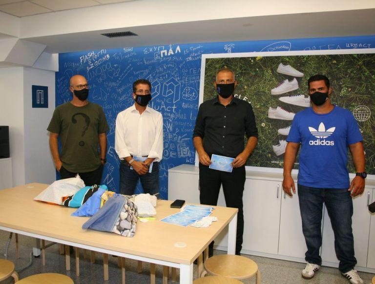 Δήμος Πειραιάς: Στο «Blue Lab» παρουσίασε η Adidas τα νέα της αθλητικά παπούτσια | tanea.gr