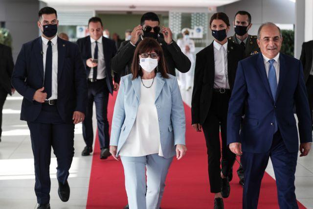 Σακελλαροπούλου από Κύπρο: Να αγωνιστούμε για τον τερματισμό της τουρκικής κατοχής | tanea.gr