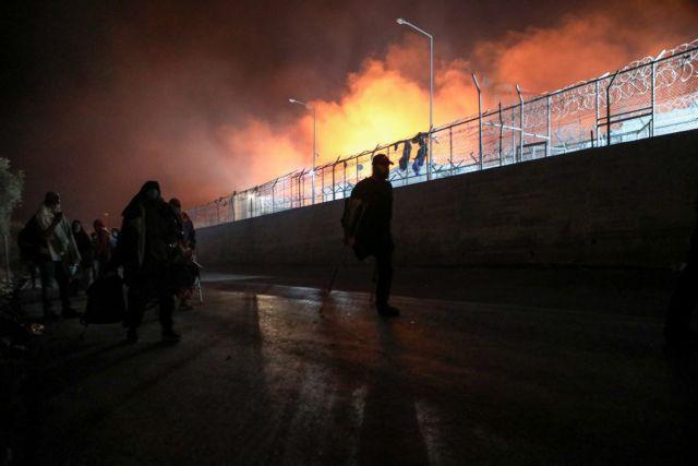 Μόρια: Τα ξένα ΜΜΕ για τη φωτιά στο ΚΥΤ της Λέσβου - Τον μεγαλύτερο προσφυγικό καταυλισμό της Ελλάδας | tanea.gr