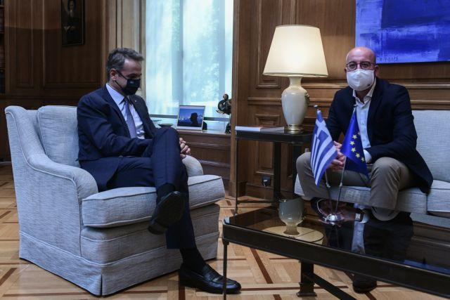 Μητσοτάκης για Τουρκία και προσφυγικό: Ετοιμοι για διερευνητικές επαφές - Η Ευρώπη να περάσει στα έργα   tanea.gr