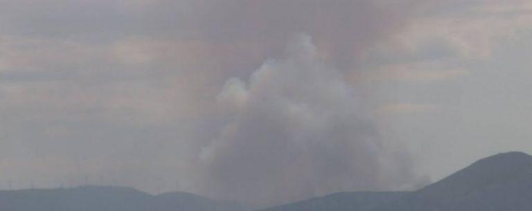 Μεγάλη φωτιά κοντά στο Χιλιομόδι Κορινθίας   tanea.gr