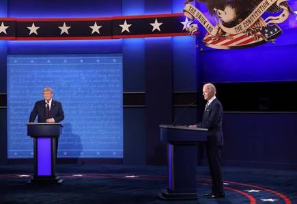 Biden goes on attack on Trump's handling of coronavirus in fiery debate   tanea.gr
