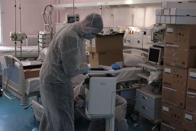 Κοροναϊός: Ακτινογραφία - σοκ δείχνει καρέ καρέ την επιδείνωση 38χρονου ασθενή | tanea.gr
