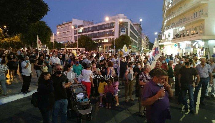 Συγκέντρωση διαμαρτυρίας και στα Χανιά για την επίσκεψη Πομπέο | tanea.gr