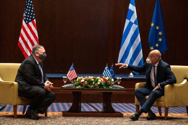 «Ζωτικός συνεργάτης των ΗΠΑ η Ελλάδα» – Τα πρώτα μηνύματα Πομπέο από τη Θεσσαλονίκη | tanea.gr