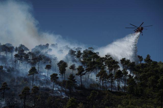 Σε εξέλιξη φωτιά στην Πάρο   tanea.gr
