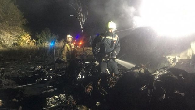 Τραγωδία στην Ουκρανία: Καρέ-καρέ η στιγμή συντριβής του Antonov | tanea.gr
