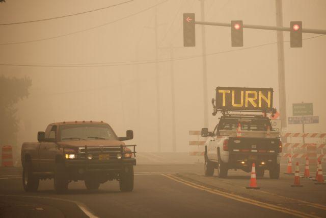 Όρεγκον : Χαοτική η κατάσταση στο Όρεγκον από τις ανεξέλεγκτες πυρκαγιές | tanea.gr