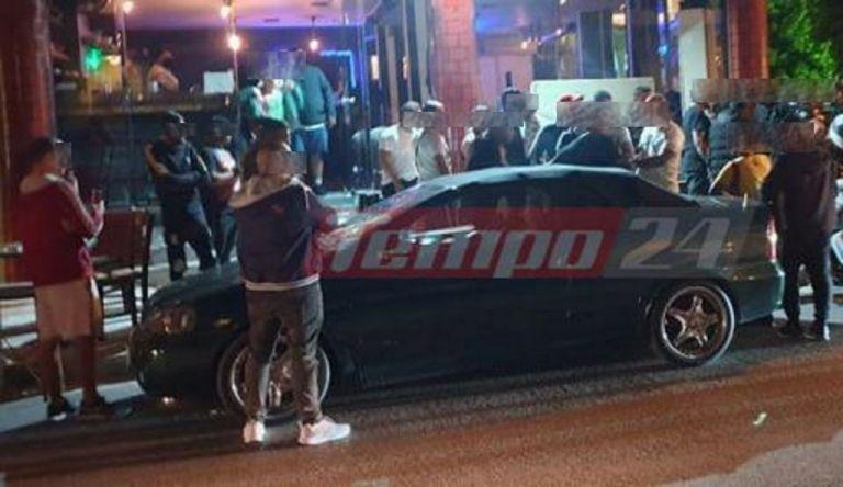 Επιτέθηκαν σε αστυνομικούς που προσπάθησαν να διαλύσουν συνωστισμό στην Πάτρα   tanea.gr