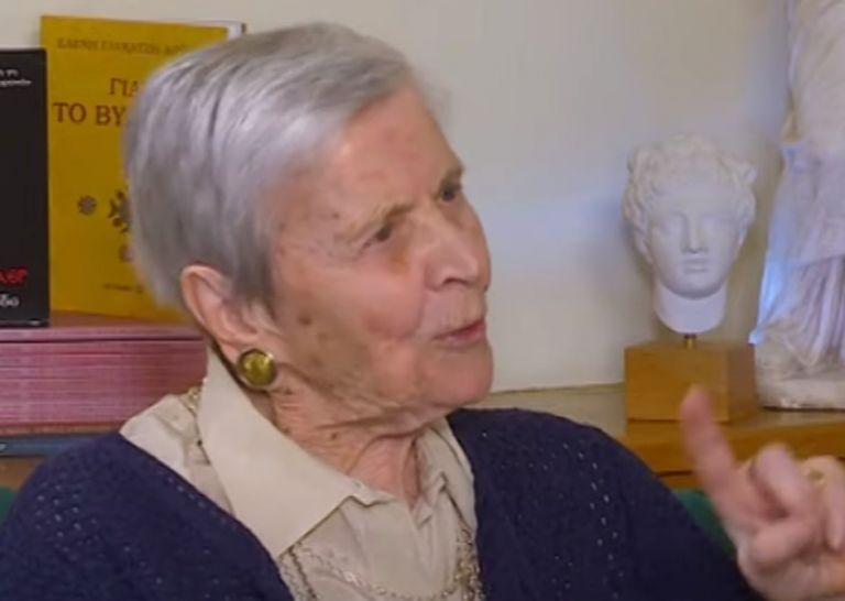 Ελένη Γλύκατζη Αρβελέρ : Γεννήθηκα αριστερή και θα πεθάνω αριστερή | tanea.gr