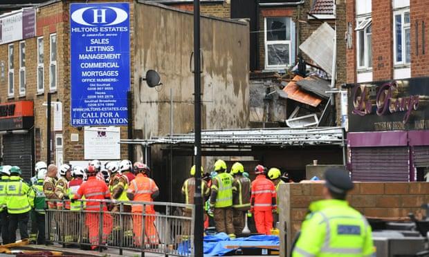 Μεγάλη έκρηξη σε κτίριο στο Λονδίνο | tanea.gr